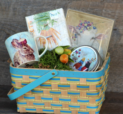 Easter basket ideas for adults papilio mt dora hopping into spring basket negle Images