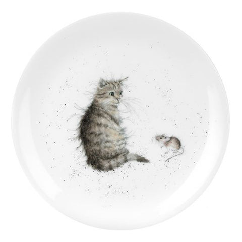 "Wrendale - Cat and Mouse' 8"" Coupe Plate"
