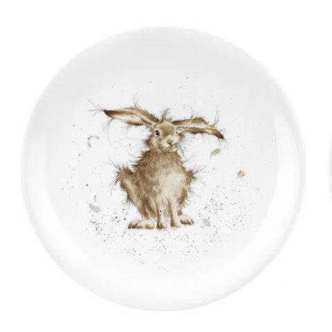 "Wrendale - 'Hare-Brained' 8"" Coupe Plate"