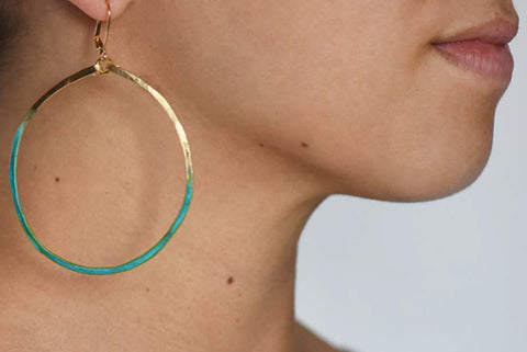 We Dream in Colour - Cyclades Earrings