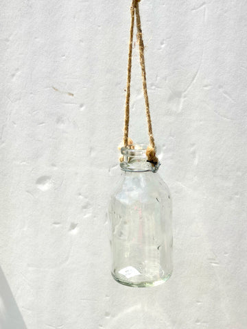 Small Hanging Decorative Bottle