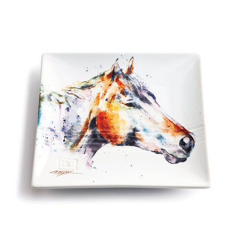 Horse Snack Plate | Dean Crouser