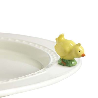 Mini Chick Platter Ornamanent - Nora Fleming