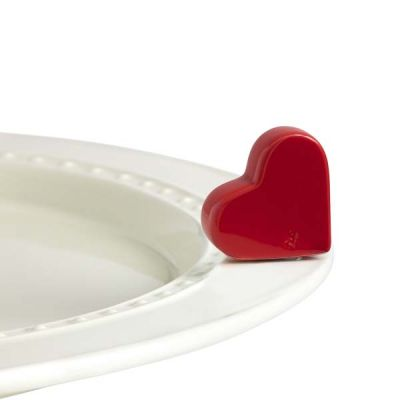 Mini Heart Platter Ornamanent - Nora Fleming