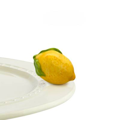 Mini Lemon Platter Ornamanent - Nora Fleming