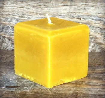 Square Votive Candle | Pumpkin Giving