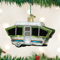 Tent Camper Ornament