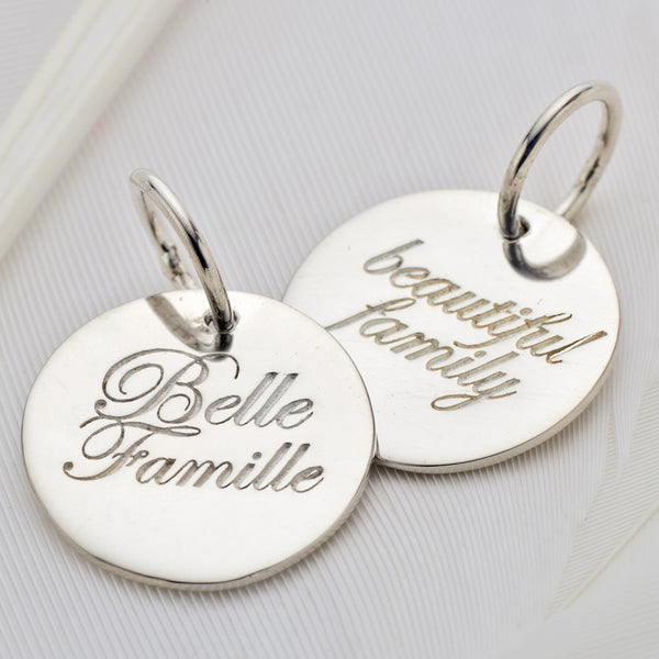 Palas, Silver Belle Famille charm - Palas - Jewellery - Paloma + Co Adelaide Boutique