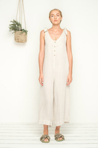 Bird and Kite Island Life Linen Jumpsuit - Bird and Kite - FASHION - Paloma + Co Adelaide Boutique