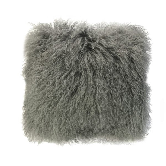 Tibetan Wool  Fur Cushion