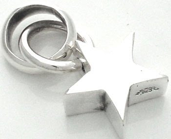 Iron Clay Sterling  Silver Star Pendant - IronClay - Jewellery - Paloma + Co Adelaide Boutique