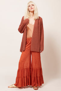 U Mes Demoiselles FanFan Floral Orange  Pant - Mes Demoiselles - FASHION - Paloma + Co Adelaide Boutique