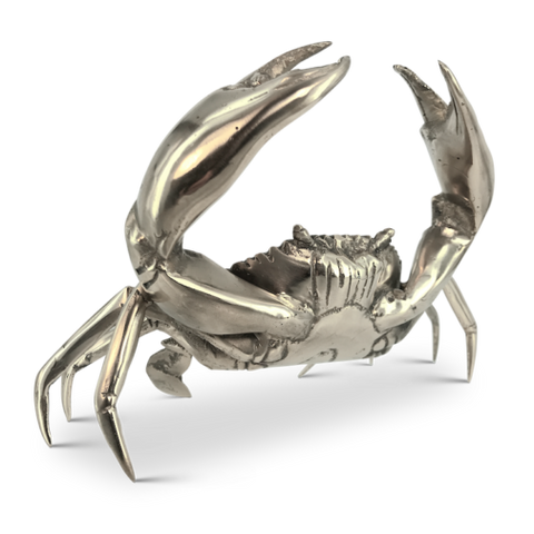 Mr Pinchy and Co. Brass Sea Crab (Medium)