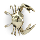 Mr Pinchy and Co. Brass Sea Crab (Medium) - Mr Pinchy and Co. - Homeware - Paloma + Co Adelaide Boutique