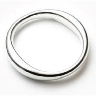 Bangle Najo, Sterling silver,Shaped Tube Bangle (Small-Medium) - NAJO - Jewellery - Paloma + Co Adelaide Boutique