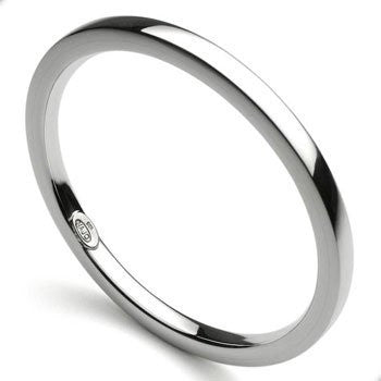 Silver Square Edge Bangle