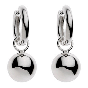 Najo, Sterling Silver, On And Off Ball Earring - NAJO - Jewellery - Paloma + Co Adelaide Boutique