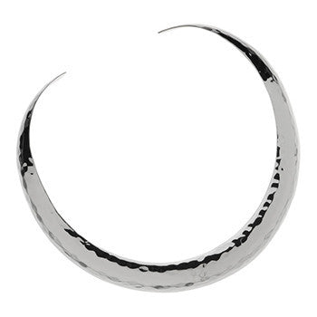 Najo El Sol  Silver Beaten Choker - NAJO - Jewellery - Paloma + Co Adelaide Boutique