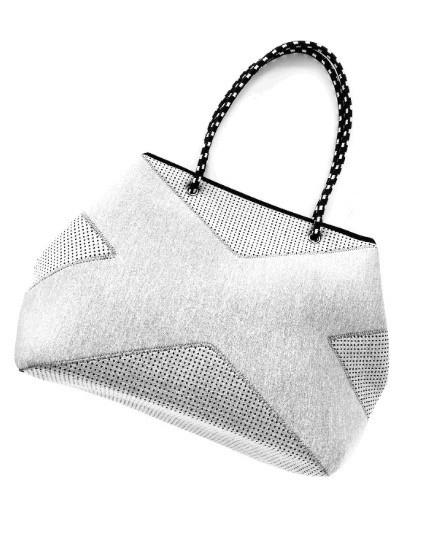 Prene X Bag Light Grey - Prene - Handbags and Purses - Paloma + Co Adelaide Boutique