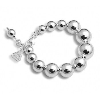 Sterling Silver Graduated Ball Bracelet