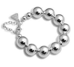 Von Treskow Ball Bracelet      A classic piece of sterling silver jewellery. Large silver balls with clasp. 925 silver, Australian made and designed. - Von Treskow - Jewellery - Paloma + Co Adelaide Boutique
