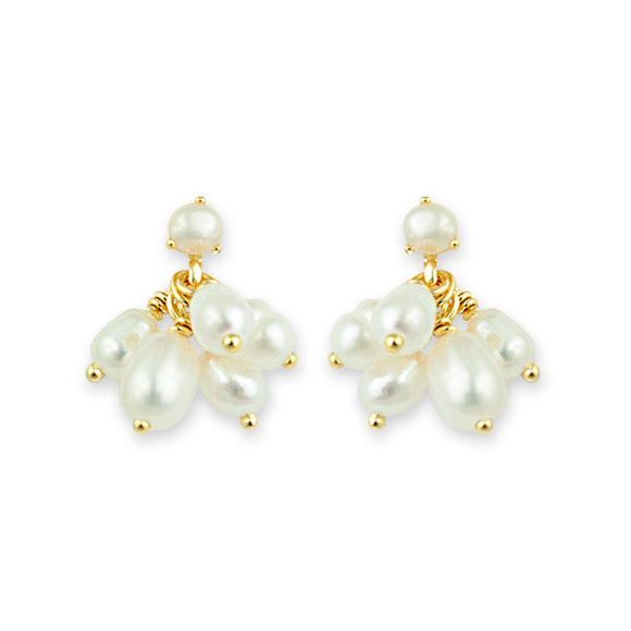 Bianc Rise Freshwater Pearl Earrings