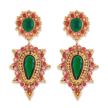 Bianc Semi Precious Stone ANNABELLE EARRINGS - Bianc - Jewellery - Paloma + Co Adelaide Boutique