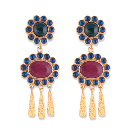 Bianc Semi Precious Stone AMELIA EARRINGS - Bianc - Jewellery - Paloma + Co Adelaide Boutique