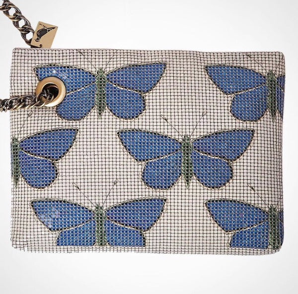 CAM Glow Mesh Butterfly Clutch - Creatively Active Minds - Handbags and Purses - Paloma + Co Adelaide Boutique