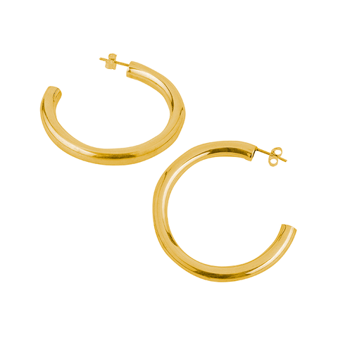 Cinquante The Label EVERYTHING Hoop Brass - Cinquante - Jewellery - Paloma + Co Adelaide Boutique
