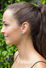 Cinquante Near & Far Silver Earring - Cinquante - Jewellery - Paloma + Co Adelaide Boutique