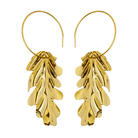 Cinquante Catch Me Earring Brass - Cinquante - Jewellery - Paloma + Co Adelaide Boutique
