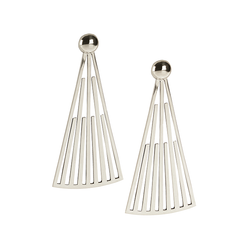 Cinquante Skyfall Earring Silver - Cinquante - Jewellery - Paloma + Co Adelaide Boutique