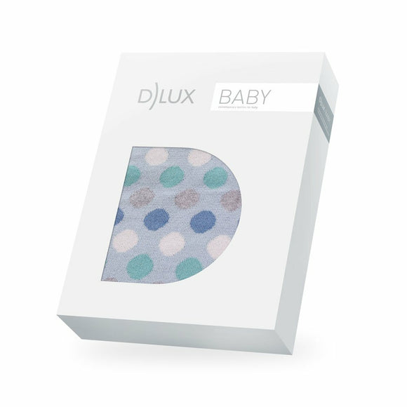 D Lux Bubble Cotton Spot Baby Blanket