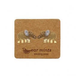Fabienne Ear Mints Elephant Stud Earrings - Fabienne - Jewellery - Paloma + Co Adelaide Boutique
