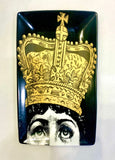 Face Plate Inspired by Fornasetti