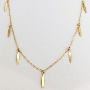 Gold Filled Fine Chain Necklace