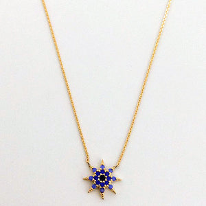 Gammie Eye Of Protection Star  Fine Chain Necklace - Gammies - Jewellery - Paloma + Co Adelaide Boutique