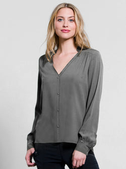 Go by Go Silk Industrial Shirt - Go Silk - FASHION - Paloma + Co Adelaide Boutique