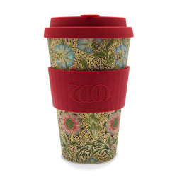 William Morris Bamboo 14oz Coffee Cup