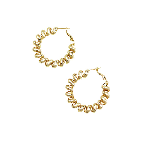 Jolie & Deen Marin Earrings Gold - Jolie & Deen - Jewellery - Paloma + Co Adelaide Boutique
