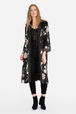 Johnny Was Velvet Mix kimono - Johnny Was - FASHION - Paloma + Co Adelaide Boutique