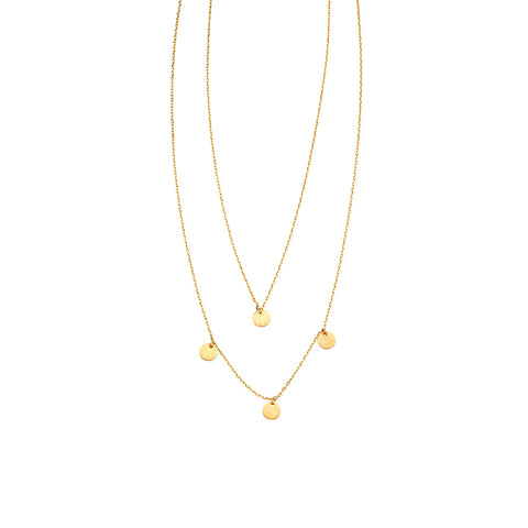 Jolie & Deen 2 Layer Maya Necklace - Jolie & Deen - Jewellery - Paloma + Co Adelaide Boutique