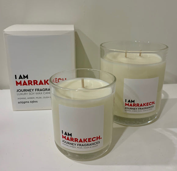 Journey Fragrances  Marrakech Candle