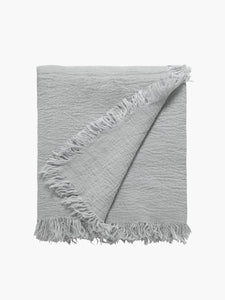 L and M Home Ava Fossil Linen Throw