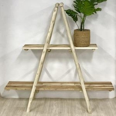Attic A Frame Wooden Display Unit