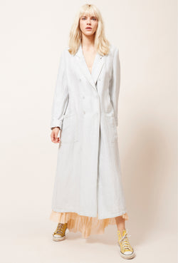 A Mes Demoiselles East Wood Linen Coat - Mes Demoiselles - FASHION - Paloma + Co Adelaide Boutique