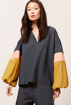 A Mes Demoiselles Blouse Priam Black - Mes Demoiselles - FASHION - Paloma + Co Adelaide Boutique