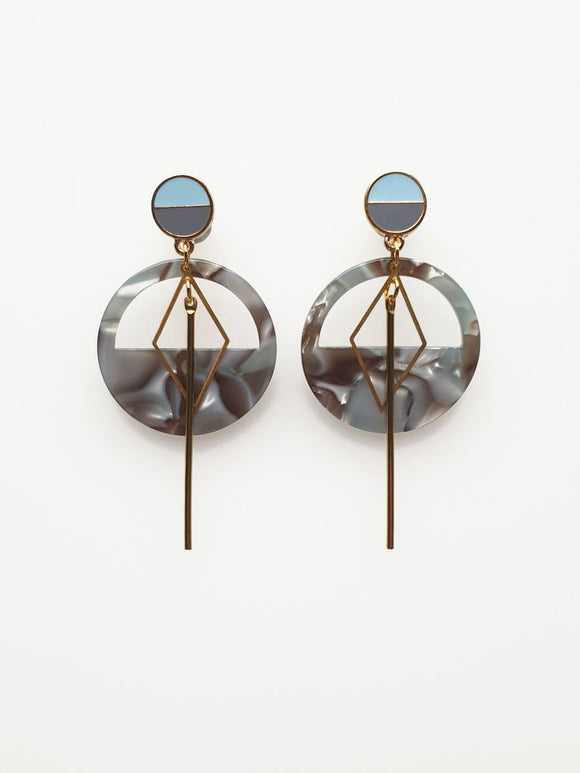 Middle Child Mast Drop Earring