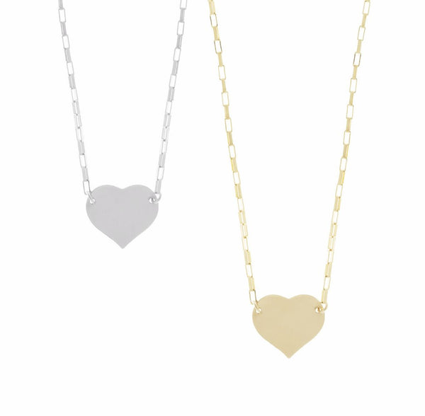 Misuzi Heart Necklace Gold - Misuzi - Jewellery - Paloma + Co Adelaide Boutique